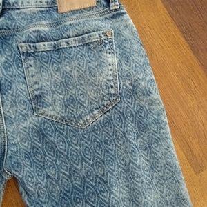 Mavi alexa 27 x 32 printed skinny jeans